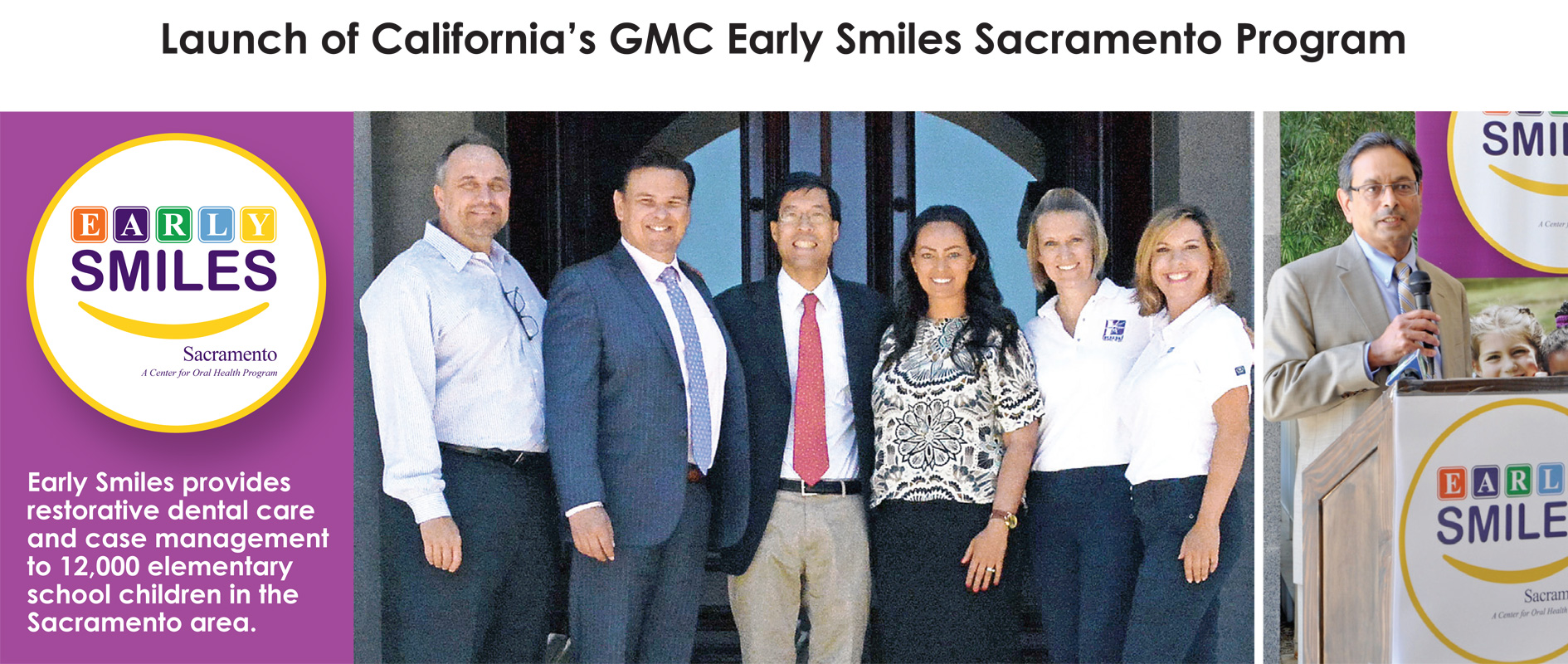 CA's GMC Early Smiles Sacramento program