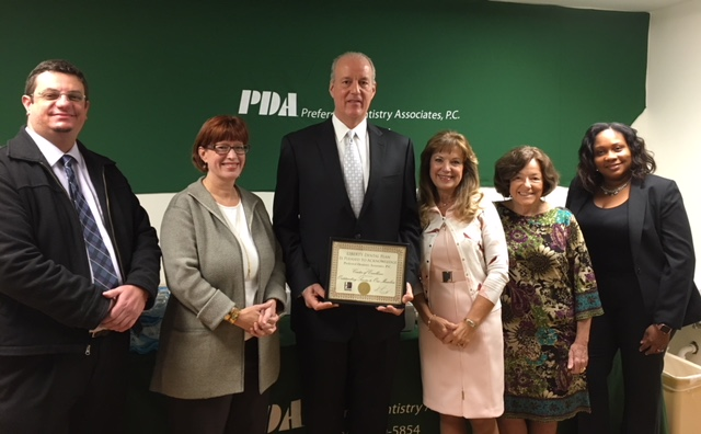 PDA receives COE Award from LIBERTY
